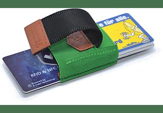 MAKAKAONTHERUN PT-Green Slim Wallet Grün