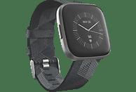 FITBIT Versa 2 (NFC) Special Edition Smartwatch Aluminium Gewebe, S, L, Smoke Woven