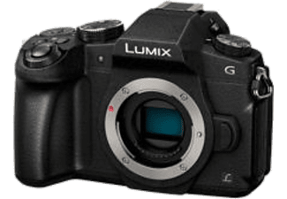 PANASONIC Appareil photo hybride LUMIX DMC-G80 (DMC-G80EF-K)