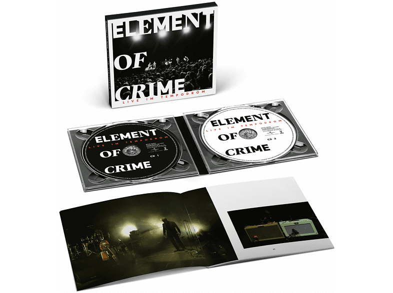 Element Of Crime - Live Im Tempodrom (Limited Deluxe Edition) [CD]