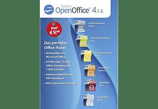 OpenOffice 4.1.6 - Standard Vollversion (1 Lizenz) - [PC]