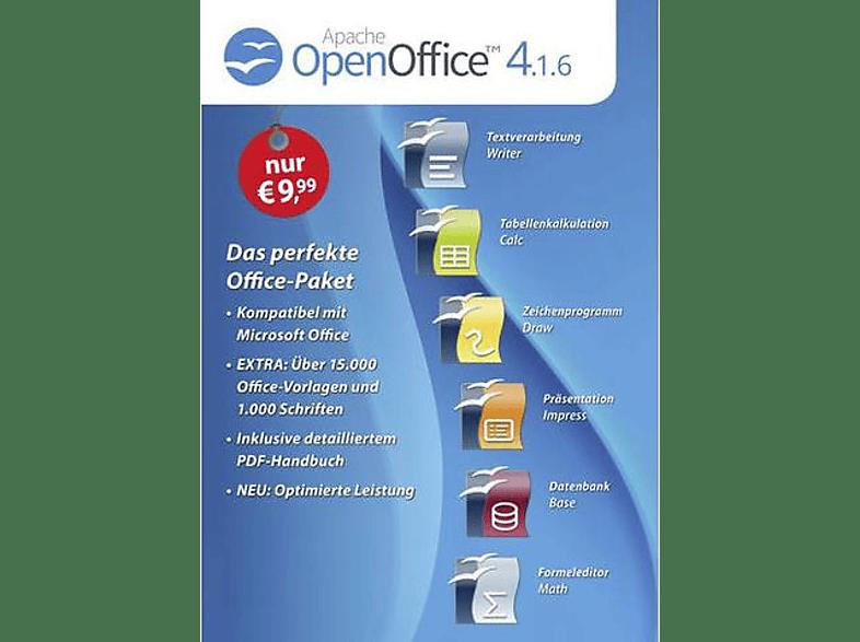 Openoffice 4 1 6 Standard Vollversion 1 Lizenz