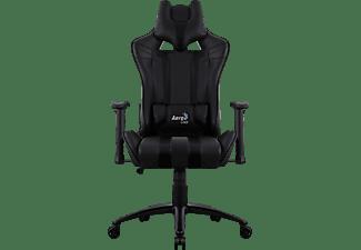 AEROCOOL AC120 AIR Gaming Stuhl, Schwarz