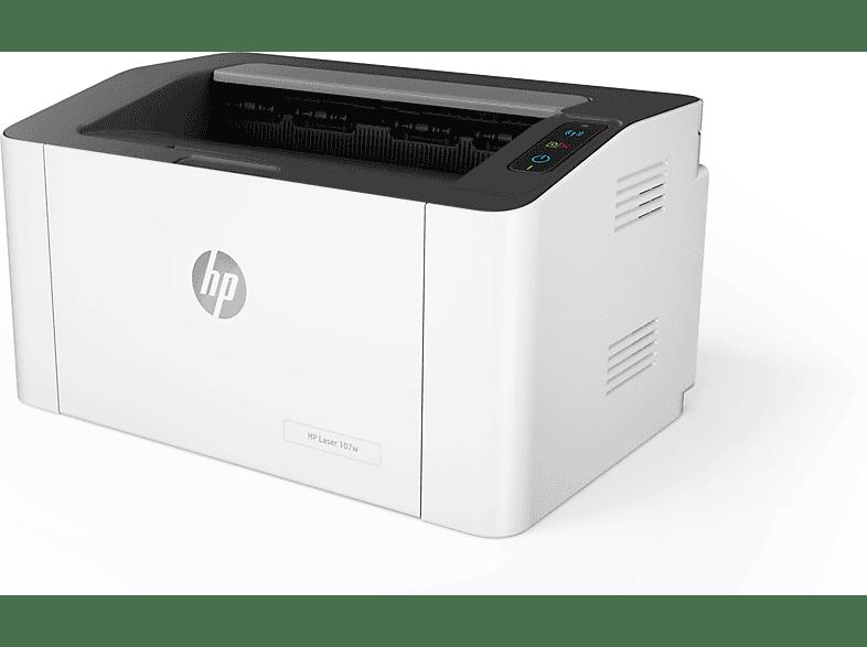 HP Laser 107w Laserdrucker WLAN