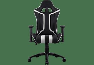 AEROCOOL Air120 Gaming Stuhl, Schwarz/Weiß