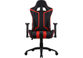 AEROCOOL AC120 Air Gaming Stuhl, Schwarz/Rot