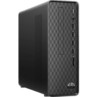 HP Slim Desktop S01-aF0005ng, Desktop PC, Pentium® Silver Prozessor, 8 GB RAM, 256 GB SSD, UHD-Grafik 605, Schwarz