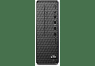 HP Slim Desktop S01-aF0005ng, Desktop PC mit Pentium® Silver Prozessor, 8 GB RAM, 256 GB SSD, UHD-Grafik 605