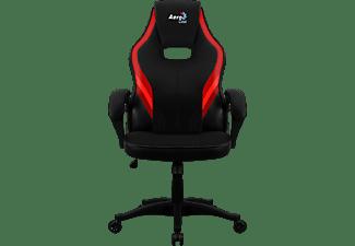 AEROCOOL Aero 2 Alpha Gaming Stuhl, Schwarz/Rot