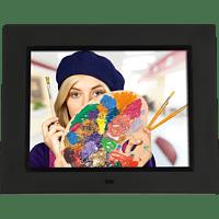 ROLLEI Pissarro DPF-860 Digitaler Bilderrahmen, 20,3 cm, 1.024 x 768 Pixel, Schwarz
