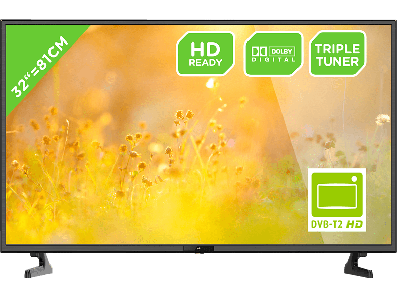 OK. ODL 32653HS-TB LED TV (Flat, 32 Zoll/81 cm, HD-ready)