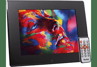 ROLLEI Pissarro DPF-120 Digitaler Bilderrahmen, 30,48 cm, 1.024 x 768 Pixel, Schwarz