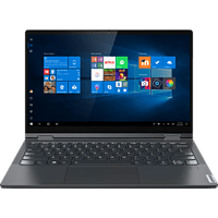 LENOVO Yoga C640, Convertible mit 13.3 Zoll Display, Core™ i7 Prozessor, 16 GB RAM, 512 GB SSD, Intel UHD-Grafik, Iron Grey