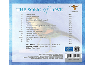 Kitty Whately, Roderick Williams, William Vann - Ralph Vaughan Williams: The Song Of Love  - (CD)