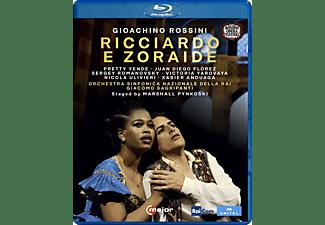 Juan Diego Florez, Marshall Pynkoski, VARIOUS, Pretty Yende - Rossini: Ricciardo e Zoraide   - (Blu-ray)
