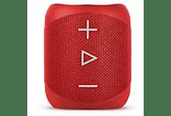 Altavoz inalámbrico - Sharp GX-BT180, 14 W, Bluetooth, Micro USB, Rojo