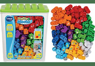 VTECH BlaBlaBlocks - 80-Blöcke-Box Bausteine, Mehrfarbig