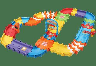 VTECH Tut Tut Baby Flitzer - Straßenset deluxe Spielzeugauto, Mehrfarbig