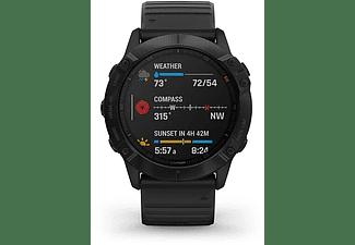 Reloj deportivo - Garmin Fenix 6X Pro, Negro, GPS, Sensores ABC, Aplicaciones deportivas