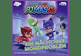 Walter Von Hauff, Tim Schwarzmeier, Lea Kalbhenn, Norman Endres, Tanja Schmitz, Pj Masks - Ein Mächtiges Mondproblem-Das CD Hörspiel  - (CD)