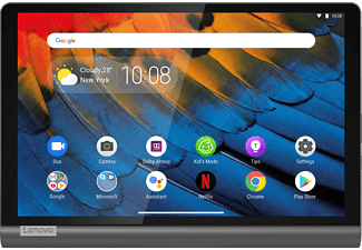 LENOVO Yoga Smart Tab YT-X705F, Tablet, 64 GB, 10,1 Zoll, Schwarz