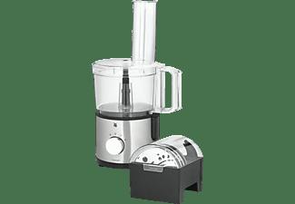 WMF 04.1664.0011 Kult X Kompaktküchenmaschine Chromargan Matt/Transparent (Rührschüsselkapazität: 2 Liter, 500 Watt)