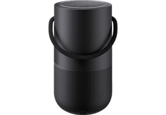 BOSE Portable Home Speaker Bose Portable Home Speaker, USB-C-Netzkabel App-steuerbar, Bluetooth, W-LAN Schnittstelle=k.A., Schwarz