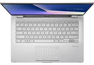 ASUS ZenBook Flip 14 (UM462DA-AI022T), Convertible mit 14,0 Zoll Display, AMD Ryzen™ 5 Prozessor, 8 GB RAM, 256 GB SSD, Radeon™ Vega 8, Light Grey