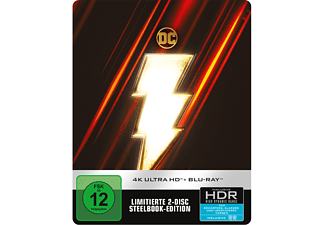 Shazam! (Steelbook) 4K Ultra HD Blu-ray + Blu-ray