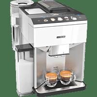 SIEMENS TQ507D02 EQ.500 integral Kaffeevollautomat Edelstahl/Weiß