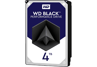 WESTERN DIGITAL WD Black Interne HDD Festplatte 4 TB, 3,5 Zoll