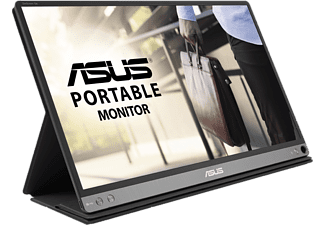 ASUS MB16AP ZenScreen GO 15.6 inch Full HD Portable Monitor, USB Type-C, Built-in Battery