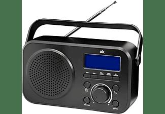 OK. ORD 210 DAB+ Digitalradio, Digital, DAB, DAB+, FM, Schwarz