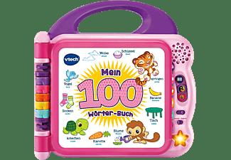 VTECH Mein 100-Wörter-Buch pink Lerncomputer, Mehrfarbig
