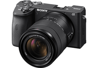 SONY Alpha 6600 Kit (ILCE-6600M) Systemkamera mit Objektiv 18-135 mm, 7,6 cm Display Touchscreen, WLAN