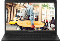 MEDION AKOYA® E4253 (MD 61197), Notebook mit 14 Zoll Display, Pentium® Prozessor, 4 GB RAM, 64 GB eMMC, Intel UHD-Grafik 605, Schwarz