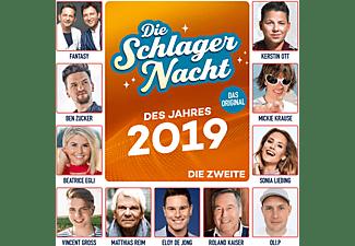 VARIOUS - Die Schlagernacht des Jahres 2019-Die Zweite  - (CD)