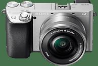 SONY Alpha 6100 Kit (ILCE-6100L) Systemkamera mit Objektiv 16-50 mm, 7,6 cm Display Touchscreen, WLAN