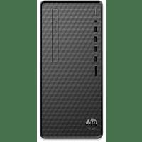 HP M01-F0004ng, Desktop PC, Ryzen 3 Prozessor, 8 GB RAM, 512 GB SSD, Radeon Vega 3, Schwarz