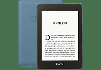 KINDLE Paperwhite, wasserfest, 6 Zoll (15 cm) großes hochauflösendes Display - 8 GB (mit Spezialangeboten)  8 GB eBook Reader Dunkelblau