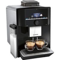 SIEMENS TI921509DE EQ.9 S100 Kaffeevollautomat Schwarz/Edelstahl