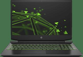 HP Pavilion 15-ec0325ng, Notebook mit 15,6 Zoll Display, Ryzen™ 5 Prozessor, 16 GB RAM, 512 GB SSD, GeForce GTX 1660 Ti Max-Q, Schwarz