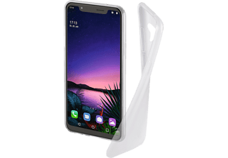 HAMA Crystal Clear Backcover, LG G8s ThinQ, Thermoplastisches Polyurethan, Transparent