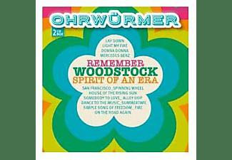 VARIOUS - OHRWÜRMER - REMEMBER WOODSTOCK  - (CD)
