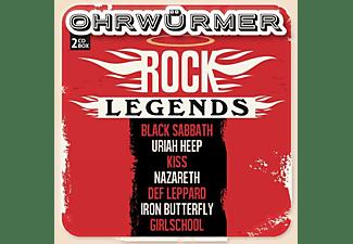 VARIOUS - Ohrwürmer - Rock Legends (2CD)  - (CD)