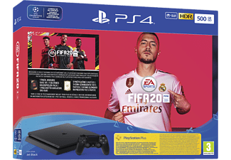 PlayStation 4 Slim 500 GB - FIFA 20 Bundle - Spielekonsole - Jet Black