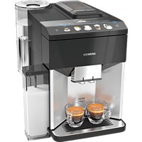 SIEMENS TQ503D01 EQ.500 integral Kaffeevollautomat Silber/Schwarz
