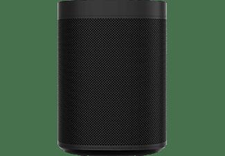 SONOS One SL Lautsprecher App-steuerbar, Schwarz