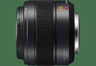 PANASONIC H-XA025E - 25 mm f./1.4 DG, ASPH (Objektiv für Micro-Four-Thirds, Schwarz)