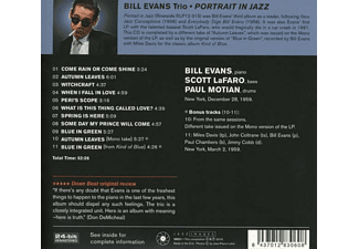 Bill Evans - Portrait In Jazz - Jean-Pierre Leloir Collection  - (CD)